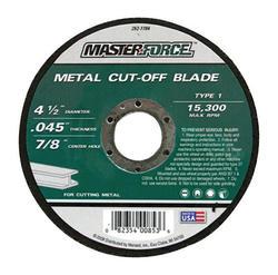 "Masterforce® 4-1/2"" x .045 Metal Cut-Off Wheel"