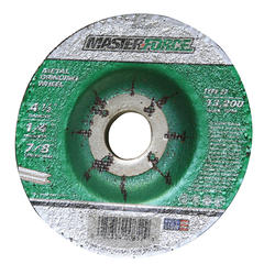 "Masterforce® 4-1/2"" x 1/4 Metal Grinding Wheel"