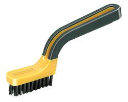 Soft Grip Narrow Nylon Stripper/Grout Brush