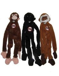 Masterpaws® Monkey Plush Dog Toy with No Stuffing