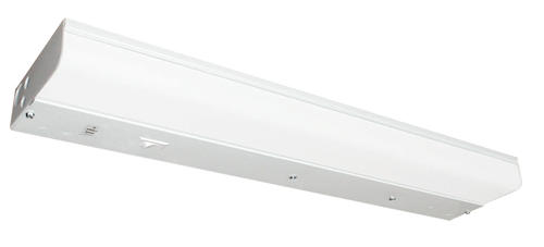white 1 light 18 watt t8 direct wire undercabinet light at menards. Black Bedroom Furniture Sets. Home Design Ideas