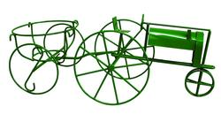 Tractor Plant Stand (Assorted Colors)