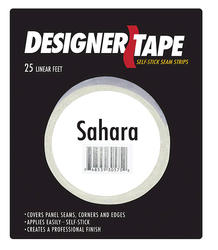 "American Pacific 1"" x 25' Sahara Seam Tape"