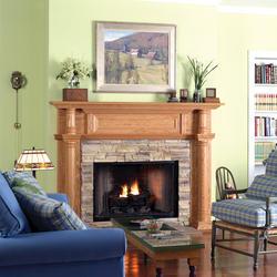 Charleston Premium Series Wood Mantel