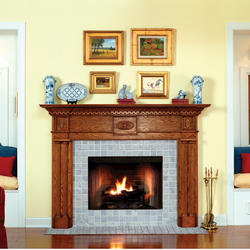 Colonial Premium Series Wood Mantel