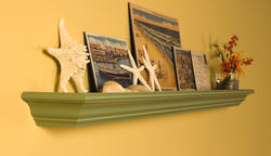 6' Crestview Mantel Shelf Only