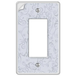 Paper-It Clear Composite 1 Rocker Wallplate