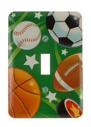 Sports, Deco Toggle Wallplate
