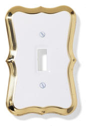 Empire Style Toggle Wallplate
