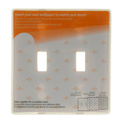 Paper-It Double Toggle Wallplate