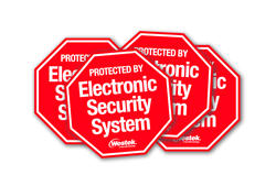 Security System Stickers