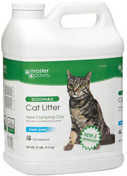 Masterpaws® Scoopable Cat Litter - 21 lb.