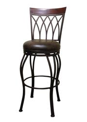Designer's Image™ Chantilly Counter Height Swiveling Metal Stool