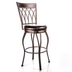 Designer's Image™ Chantilly Bar Height Swiveling Metal Stool