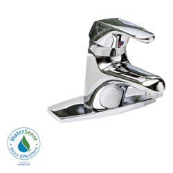 Seva Bathroom Sink Faucet Monoblock Metal Lever Handle