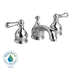 Hampton Bathroom Sink Faucet Widespread Metal Lever Handle