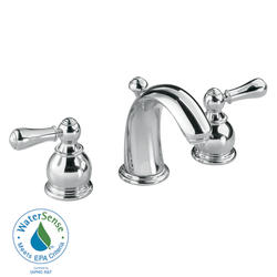 Hampton Bathroom Sink Faucet Widespread Metal Lever