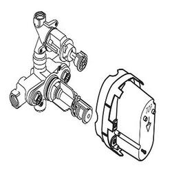 """C-Therm 2 Handles Thermostat 1/2"""" (A4215 Nu)"""