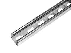 10' 12-Gauge Pre-Galvanized Strut Channel