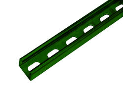 10' 14-Gauge Green Strut Channel