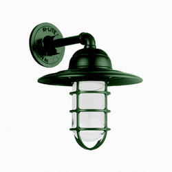 """10"""" Round x 10"""" High Wall Sconce with Clear Castguard"""