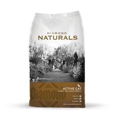 Diamond Naturals Active Cat Food - 18 lb