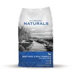 Diamond Naturals Beef Meal & Rice Dog Food - 40 lb