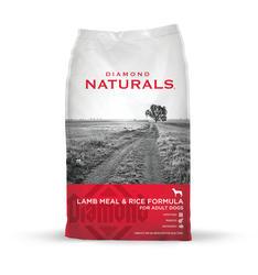 Diamond Naturals Lamb Meal & Rice Dog Food - 40 lb