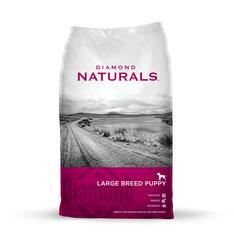 Diamond Naturals Lamb & Rice Large Breed Puppy Food - 20 lb