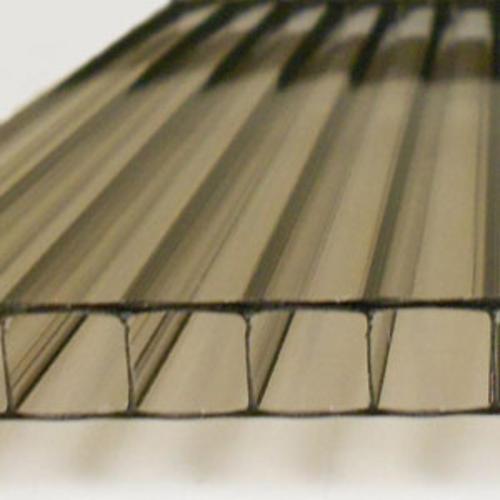 10mm bronze 4 39 x 24 39 twin wall polycarbonate at menards. Black Bedroom Furniture Sets. Home Design Ideas