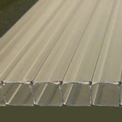 10mm Clear 4' x 10' Twin Wall Polycarbonate