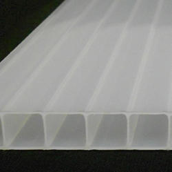 10mm White 4' x 24' Twin Wall Polycarbonate