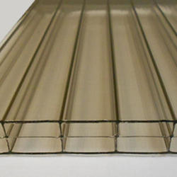 16mm Bronze 4' x 12' Triple Wall Polycarbonate