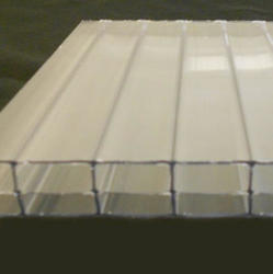 16mm Clear 4' x 24' Triple Wall Polycarbonate