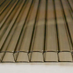 6mm Bronze 4' x 24' Twin Wall Polycarbonate