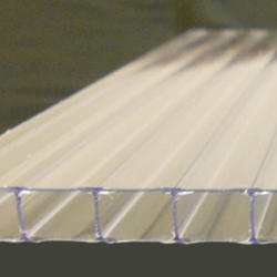 8mm Clear 4' x 10' Twin Wall Polycarbonate