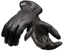 Ansell Black Deerskin Leather Gloves