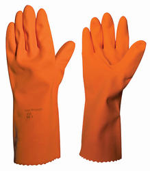 Ansell ActivArmr Orange Heavyweight Gloves