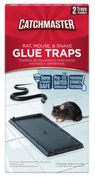 Catchmaster® Rat, Mouse & Snake Glue Traps (2-Pack)