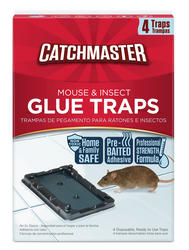 Catchmaster® Mouse Glue Traps (4-Pack)