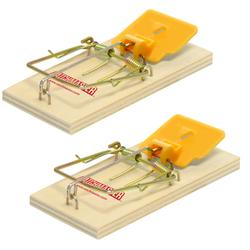 Catchmaster® Wooden Mouse Traps (2-Pack)