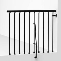 Arke Civik Black Balcony Rail Kit