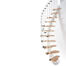 "Arke Karina 1' 10-1/2"" White Stair Kit"