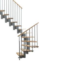 """Arke Kompact 29"""" Grey U-Turn Stair Kit"""