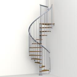 """Arke NICE 1 4' 3"""" Grey Spiral Stair Kit"""
