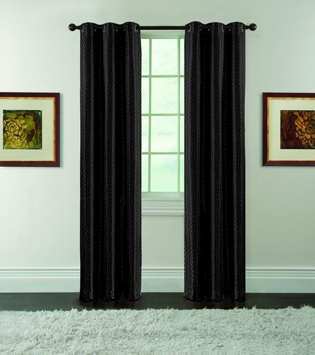 Black eclipse curtains