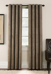 "Window Accents Antique Velvet Grommet Drapery Panel 54"" x 63"""