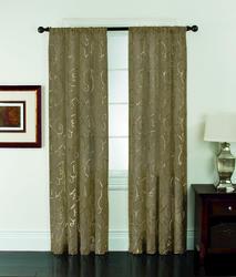 "Window Accents Riverhead Rod Drapery Panel 52"" x 63"""