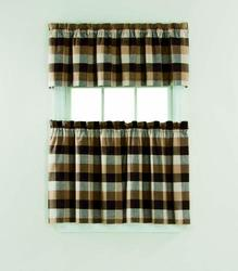 "Window Accents Nottingham Tier Set 58"" x 36"""