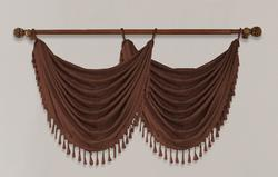 """Window Accents Luster Valance 30"""" x 21"""""""
